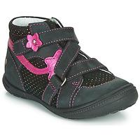 Schuhe Mädchen Boots GBB NINA Schwarz / Rose