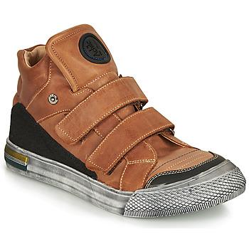 Schuhe Jungen Sneaker High Achile HUGO Braun