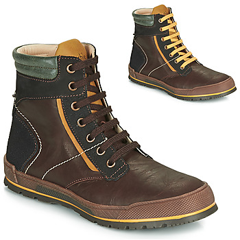 Schuhe Jungen Boots Achile MANUEL Braun