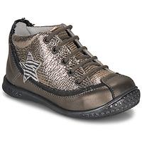 Schuhe Mädchen Boots Ikks SYDNEY Maulwurf / Gold