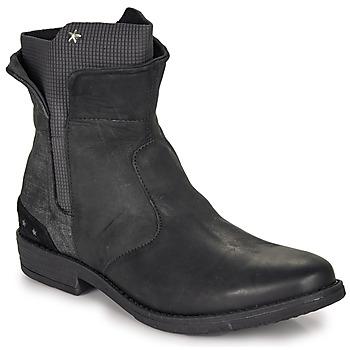 Schuhe Mädchen Boots Ikks PAMELA Schwarz
