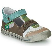 Schuhe Jungen Sandalen / Sandaletten GBB PEPINO Braun / Beige / Grün