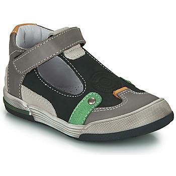 Schuhe Jungen Sandalen / Sandaletten GBB PERCEVAL Schwarz / Grau