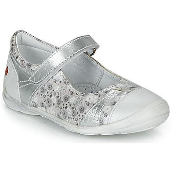 Schuhe Mädchen Ballerinas GBB PRINCESSE Silbern