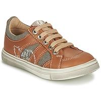 Schuhe Jungen Sneaker Low GBB PALMYRE Cognac