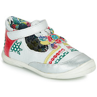 Schuhe Mädchen Ballerinas Catimini PANTHERE Weiss / Multicolor