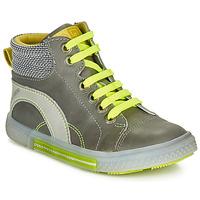 Schuhe Jungen Sneaker High Catimini PAPYRUS Grau