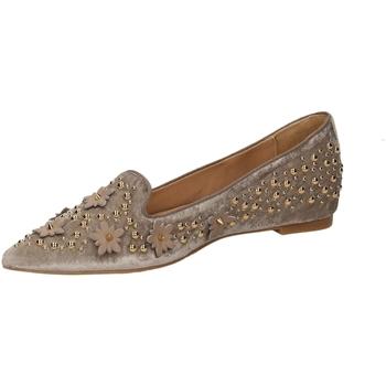 Schuhe Damen Ballerinas RAS VELLUTO sand-sand