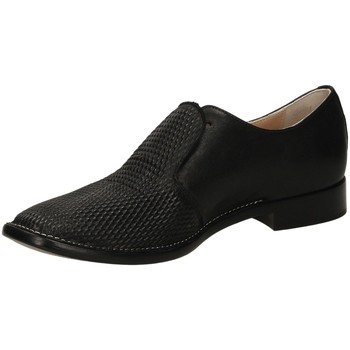 Schuhe Damen Slipper Laura Bellariva TROPIC nero-nero