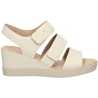 Schuhe Damen Sandalen / Sandaletten Ecco SHAPE white-bianco