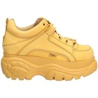 Schuhe Damen Sneaker Low Buffalo NUBUCK beige-beige