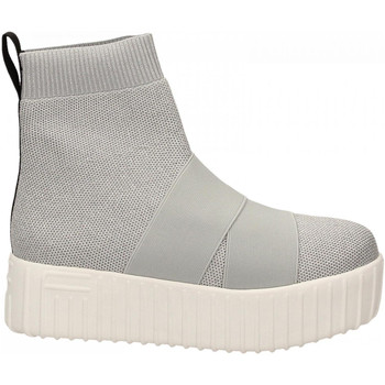 Schuhe Damen Sneaker High Fessura HI-LINE KNIT silver-ice