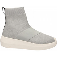 Schuhe Damen Sneaker High Fessura HI-TWINS KNIT silver-ice