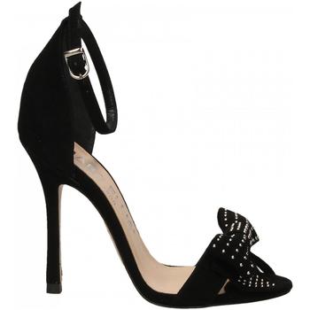 Schuhe Damen Sandalen / Sandaletten Marc Ellis CAMOSCIO nero