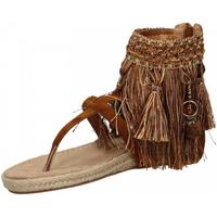 Schuhe Damen Sandalen / Sandaletten La Carrie INDRADITO C.FRANGE brown-marrone