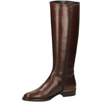 Schuhe Damen Klassische Stiefel Eclat VITELLO cuoio-cuoio
