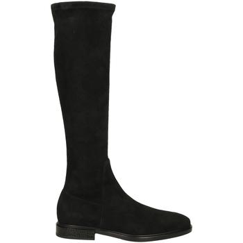 Schuhe Damen Klassische Stiefel Alberto Gozzi ROSITA CAMOSCIO nero-nero