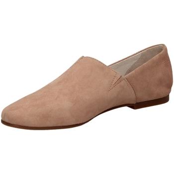 Schuhe Damen Slipper Café Noir PANTOFOLA IN CAMOSCI cipri-cipria