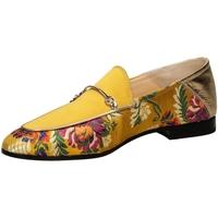 Schuhe Damen Slipper Fabi ARGAN giall-giallo