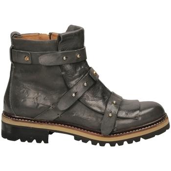 Schuhe Damen Low Boots Fabi POLO VOLANATO antra-antracite