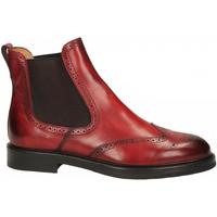 Schuhe Damen Low Boots Brecos CAPRI rosso-rosso