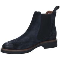 Schuhe Damen Boots Frau WAXY blu-blu