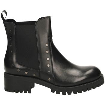 Schuhe Damen Boots Frau TIBETSTUD nero-nero
