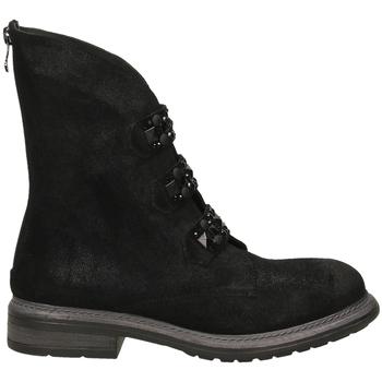Schuhe Damen Boots Poesie Veneziane BLITZ nero-nero