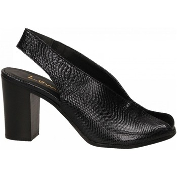 Schuhe Damen Sandalen / Sandaletten Lemaré PITONE/FIESOLE nero