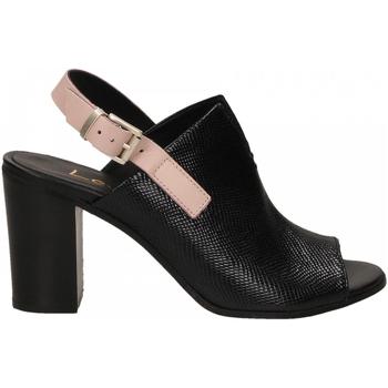 Schuhe Damen Sandalen / Sandaletten Lemaré FIESOLE nero-rosa-3390