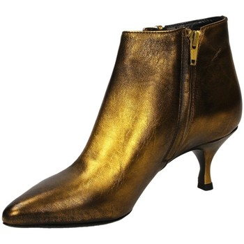 Schuhe Damen Low Boots Strategia CARLA giall-giallo