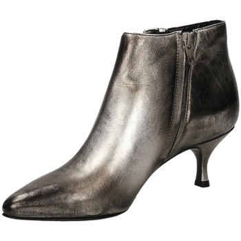 Schuhe Damen Low Boots Strategia CARLA silve-argento