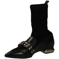 Schuhe Damen Low Boots Mivida TEQUILA/MASAI nero-nero
