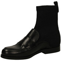 Schuhe Damen Low Boots Carmens Padova MIRTILLO 6 nero-nero