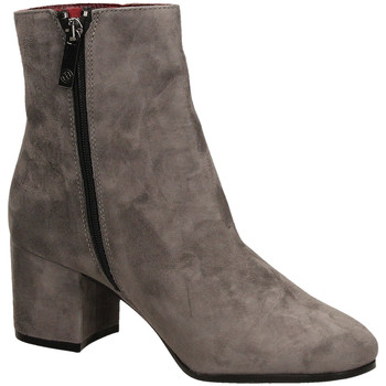 Schuhe Damen Low Boots Carmens Padova HAVANA 1 smoke-smoke