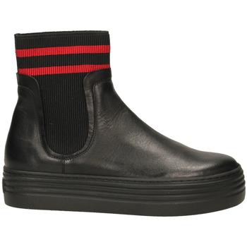 Schuhe Damen Boots Tosca Blu BARROW c99-nero