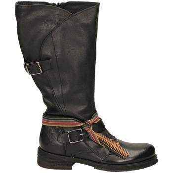 Schuhe Damen Boots Felmini TARGOFF 18 nero-nero