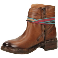 Schuhe Damen Low Boots Felmini URRACO santi-marrone