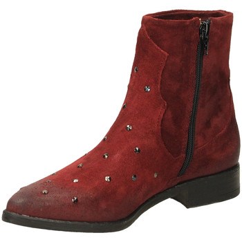 Schuhe Damen Low Boots Fabbrica Dei Colli PLAY FOD.PELLE 00034-bordeaux