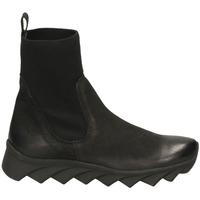 Schuhe Damen Boots Fabbrica Dei Colli READY FOND.TESSUTO 00282-nero