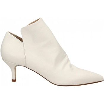 Schuhe Damen Ankle Boots Strategia NATURE bianco