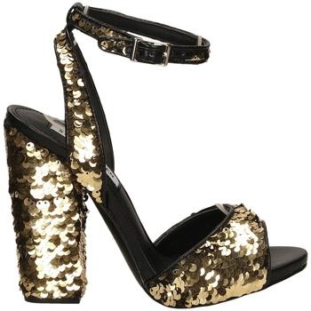 Schuhe Damen Sandalen / Sandaletten Steve Madden RITZY gold-oro