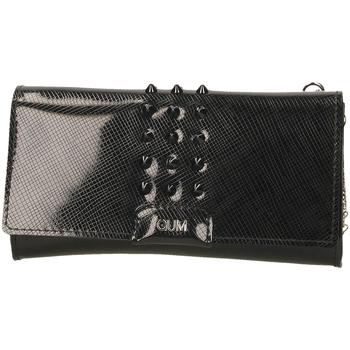 Taschen Damen Geldtasche / Handtasche Gum GUM GLOSSY STUD black-nero