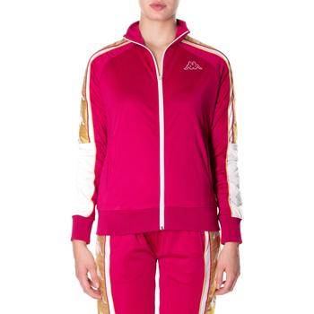 Kleidung Damen Sweatshirts Kappa BANDA 10 ANAY 906-rosso-bianco