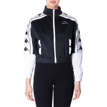 Kleidung Damen Sweatshirts Kappa BANDA 10 ANTEY 903-nero-bianco