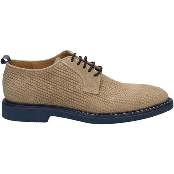 Schuhe Herren Derby-Schuhe Café Noir DERBY STAMPA INTRECC sabbi-sabbia