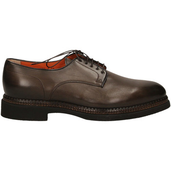 Schuhe Herren Derby-Schuhe Santoni DERBY 5F.TOM.LISCIA tum32-marrone