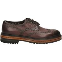 Schuhe Herren Derby-Schuhe Santoni DERBY 4F.C.RONDINE D irs56-marrone