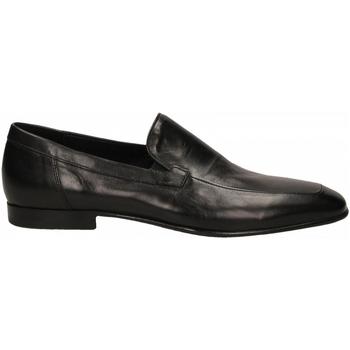 Schuhe Herren Slipper Edward's FIESTA FORATO BUTTERO nero