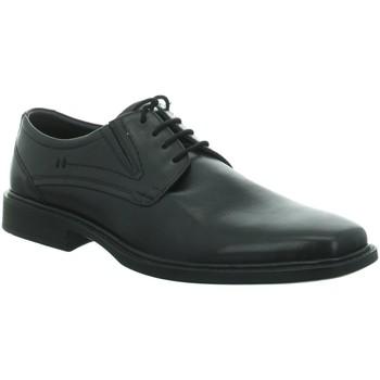 Schuhe Herren Derby-Schuhe & Richelieu Longo Business SHS bequ.glatt.Boden 1006519 schwarz